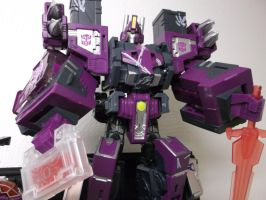 Shattered Glass Optimus Is Invading Earth! by forever-at-peace