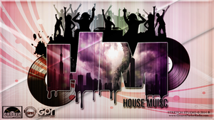 HOUSE MUSIC WALLPAPER 2 by Dj Stretch by GrooveParlorRadio