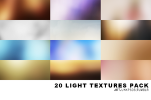 20 light texture pack by artjunkpsds by art-psds-junk