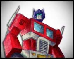 Optimus Prime by Stepz