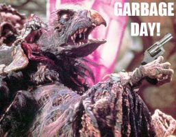 Garbage Day Dark Crystal style by Crocazill