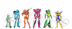Female Autobots by RebeccaHudgens