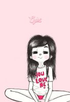 You love me by ChabeEscalant