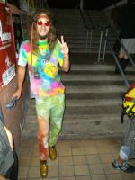 Only Hippie at 60s 70s party by Dominik19