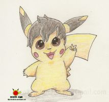 ColorPencil Pikachu by Scott-chu