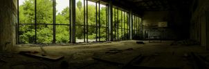 Pripyat Sports Hall I by JaanusJ