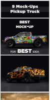Pickup Truck Mock-up by Uhohart