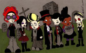 Goth Class of 3000 by janiceghosthunter