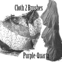 Cloth2 Brushes by Purple-Quartz-Brush
