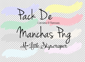 Pack De Manchas Png's by M-LittleSkyscraper