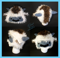 Appa Crochet Hat by Silent--Haze