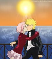 NaruSaku - Kiss Me by natichan94
