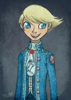 Persona AU: Teddie Of Tarth by Alias-Hugo