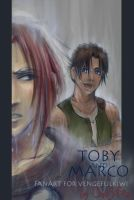 downpour - TobyandMarco4 Mikey by ChibiSofa