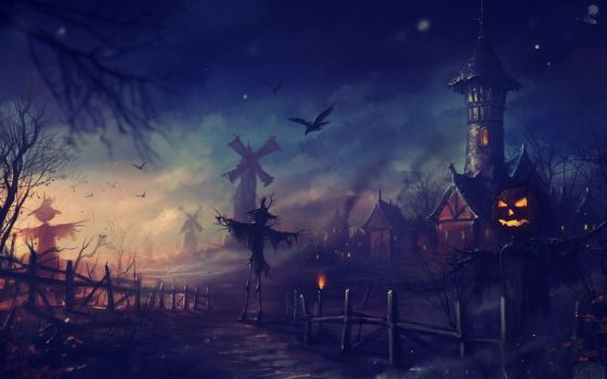 Have a Happy Halloween Comment for Halloween! by death-is-the-soul