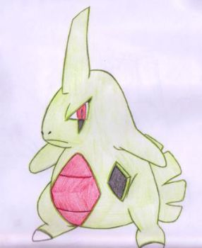 Misfit 2 mean little Larvitar by SCARSthecat