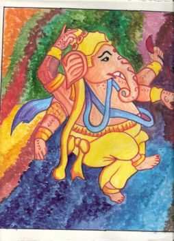 the dance of ganesha by shad84