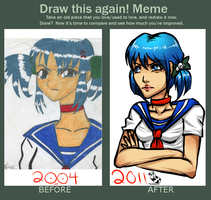 Second Improvement Meme by PandaBeans
