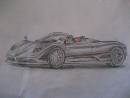 Pagani Zonda by I-Dont-Do-Art