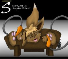 Ticklish Eevee by Seraphon