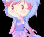 Free Request: Mishu Pixel Page Doll by CuddlyBunneh