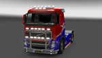 The Norwegian Flag Truck by LarsMental