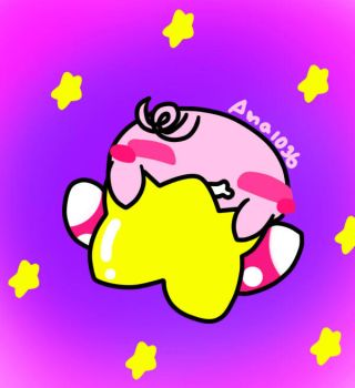Kid Kirby (recolored) by ana1036