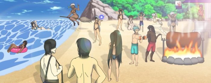 60K VIEWS SPECIAL PICTURE: Beach Club Party by Tyron91