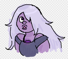 Amethyst doodle by fishbowlspace
