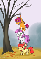 ATG 5: Fall Already by PuffPink