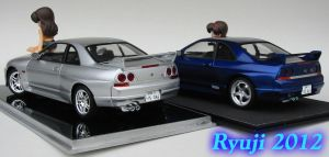 Tamiya R33 GT-R 05 by celsoryuji
