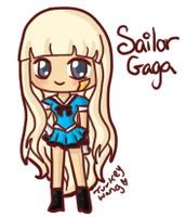 Sailor Gaga by Turkey-Wang