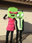 Invader Zim Cosplay by MelTheInvader