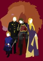 The Lannisters by HaddonArt