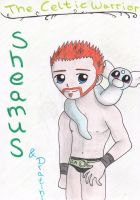 Sheamus and Dratini by CelticFire7