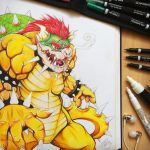 Bowser by TheLittleArtyThing