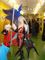 my edited Sephiroth costume by Chaos-Sephi