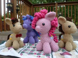 My Little Pony Amigurumis by MilesofCrochet
