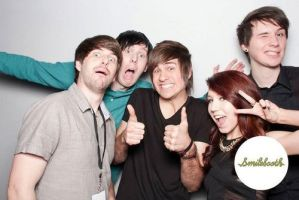 Dan And Phil And Smosh by MeryHeartless