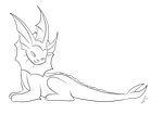 Vaporeon Lines by jaclynonacloudlines
