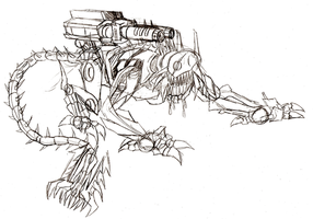 Ravage sketch by Berty-J-A