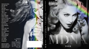 MDNA Tour Blu-ray front and back by Ludingirra