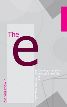 the e Character by El3fret