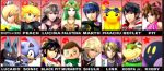 Luna's Future Mains for SSB4 by NightTheSnowTiger
