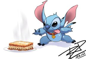 Lasagna for Stitch by Robaato