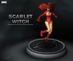Marvel - Scarlet Witch by davislim