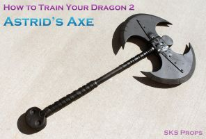 Astrid's Axe How to Train Your Dragon 2 by SKSProps