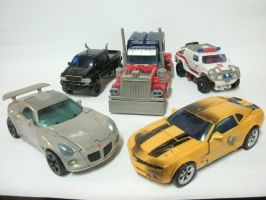Autobots First Five by raipo