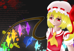 Flandre - Unknown Girl by ShooterXchan