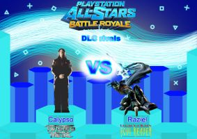 PASBR DLC rivals: Calypso VS Raziel by Playstation-Jedi